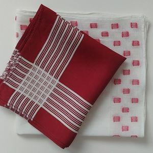 4/$15 - two vintage handkerchiefs